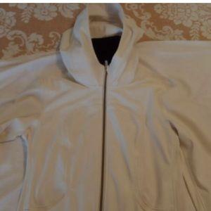 LuLuLemon Size 8 Cream Colored Hoodie  Jacket